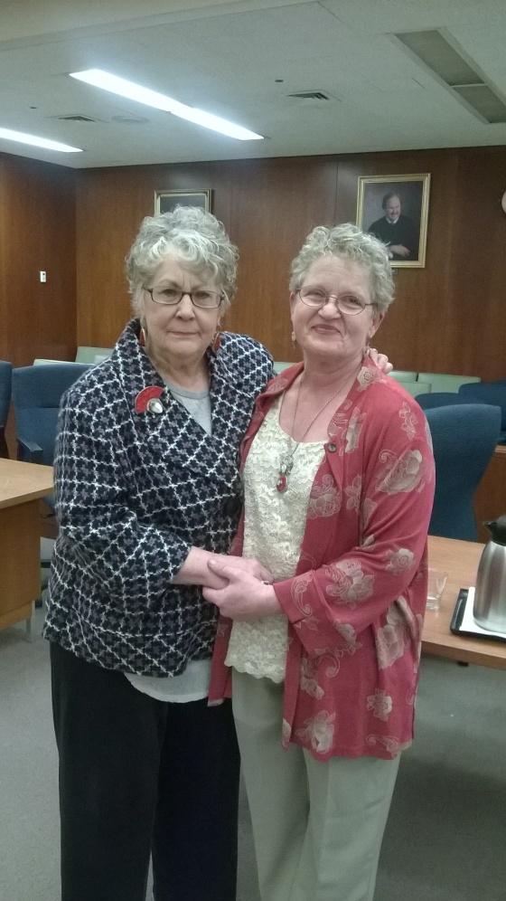 Newlyweds Karen Hastings & Ute Mueller